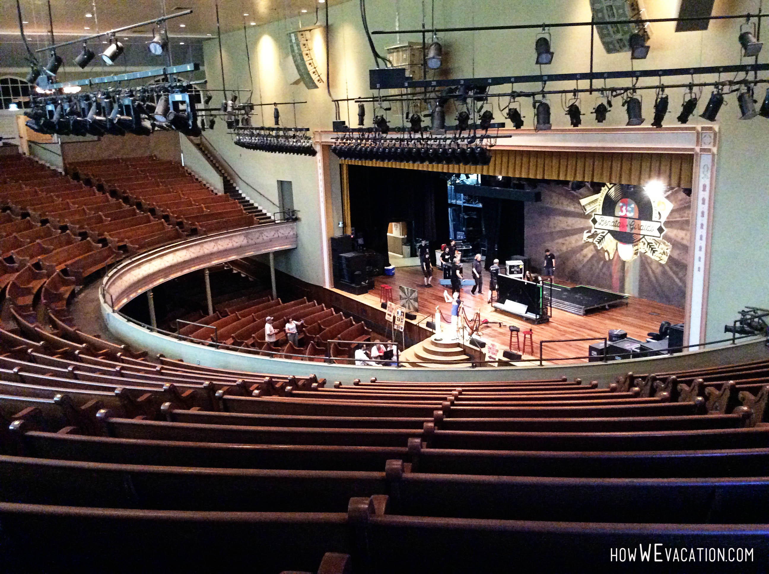 Tour the Ryman Auditorium