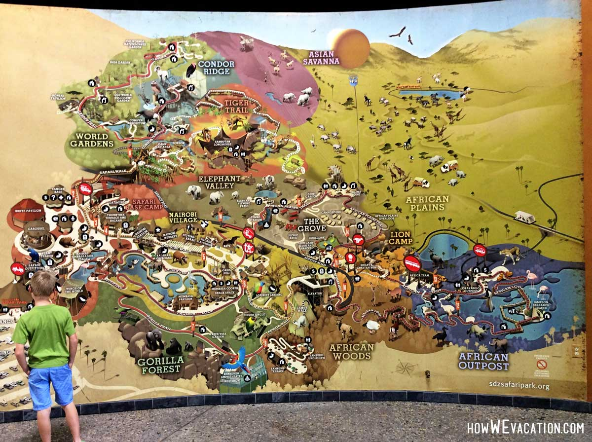 Safari Park Map