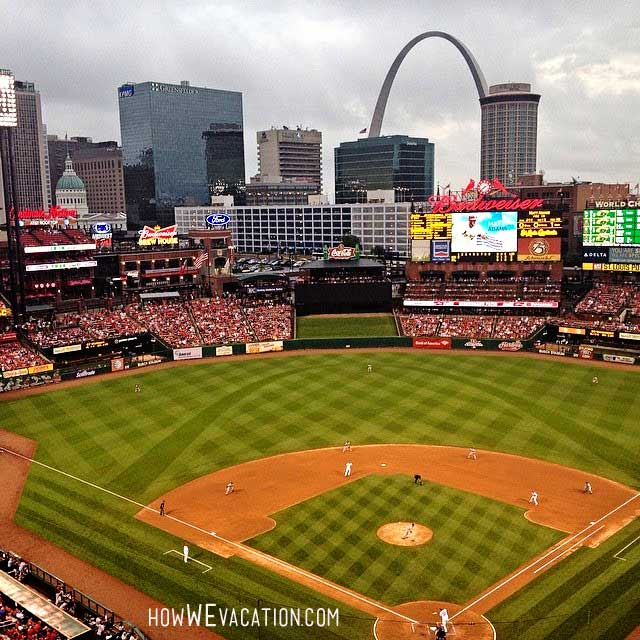 Busch Stadium in St Louis, Missouri