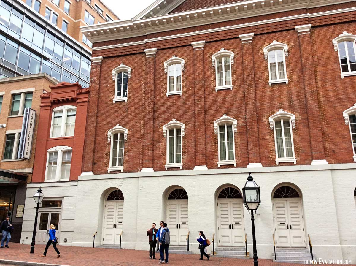 ford's theatre - washington, d.c. - how we vacation