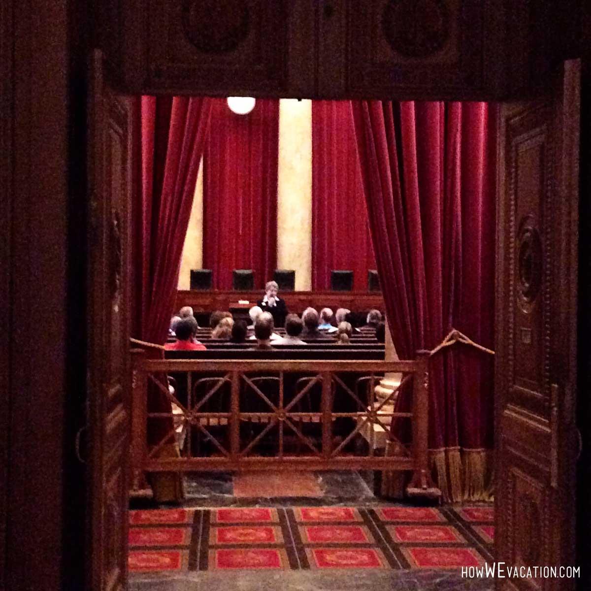 US Supreme Court Session