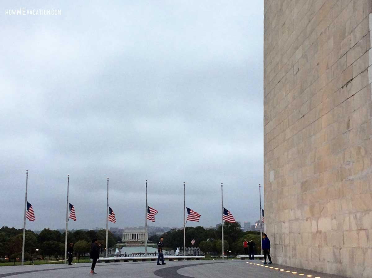 Flags Washington Monument