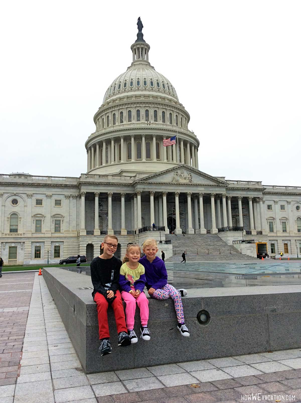 Kids at National Capitol