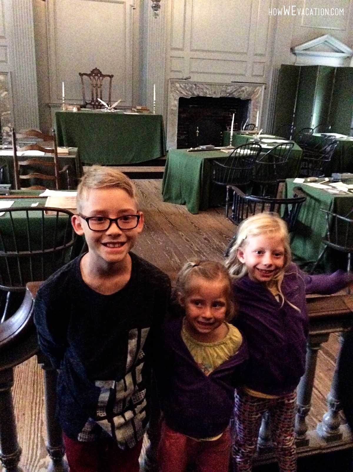 Independence Hall Green Room