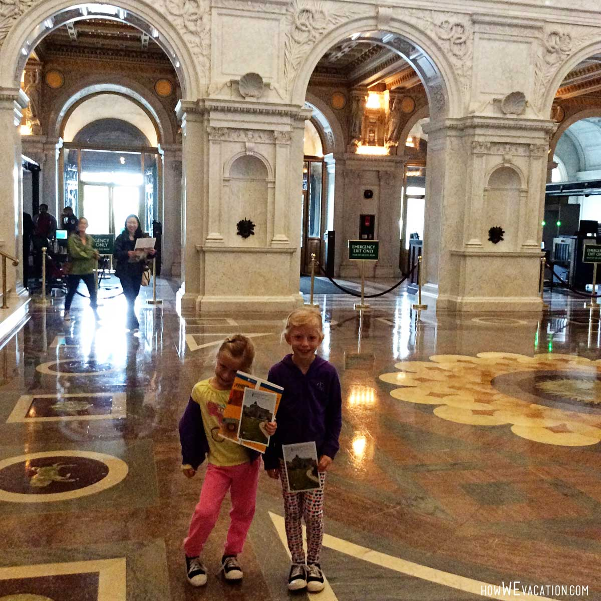 Kids at the Library of Congress
