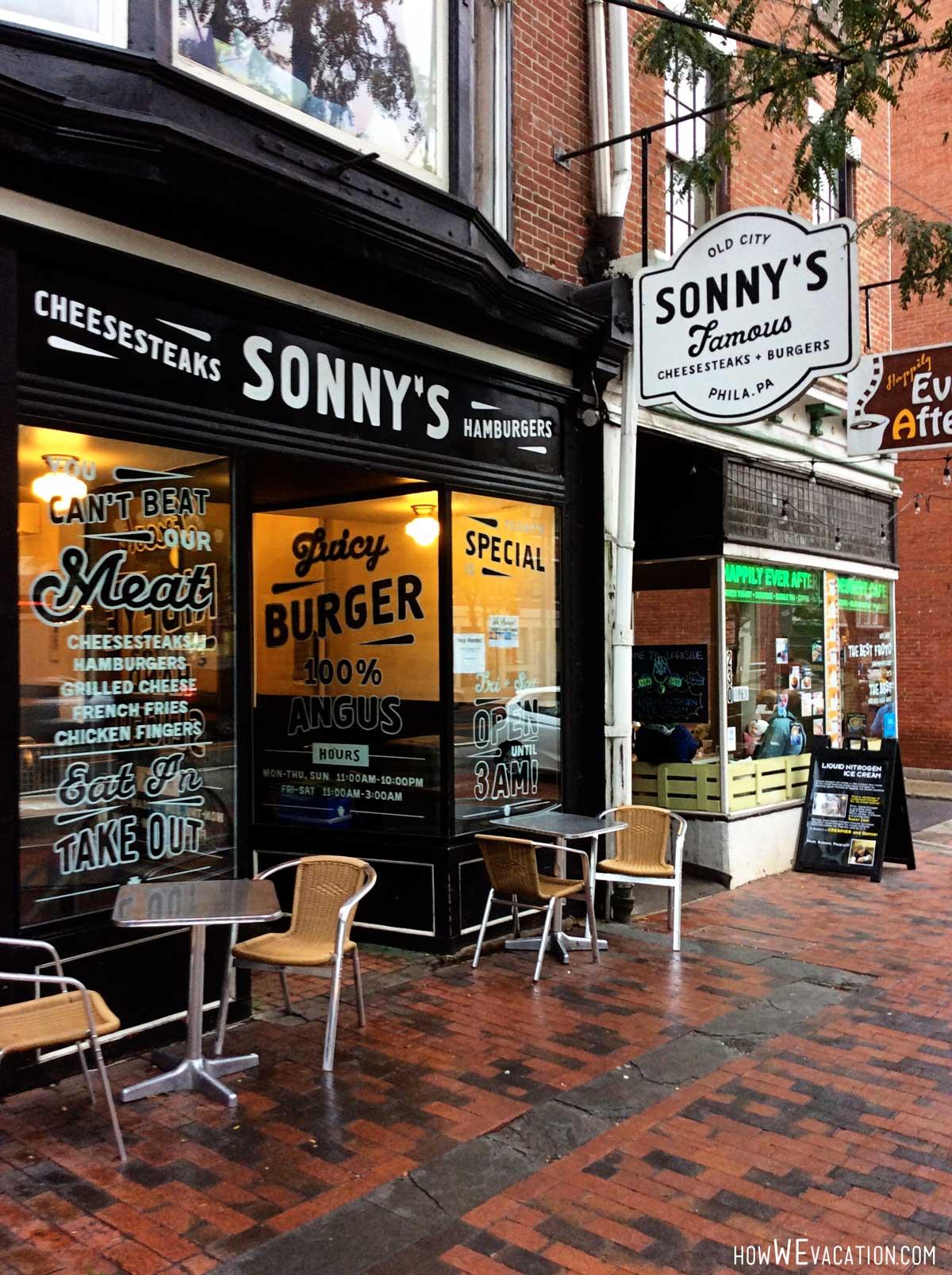 Sonnys Philly Cheasesteak Philadelphia, PA