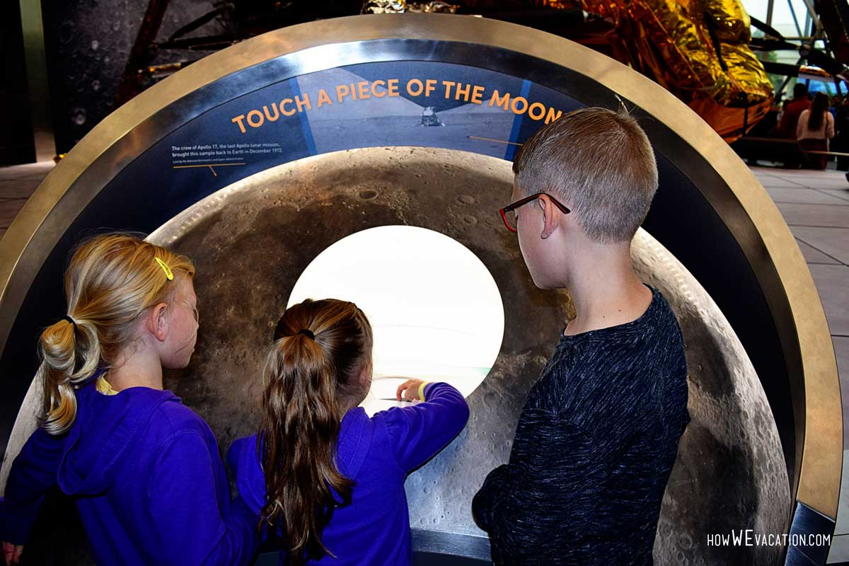 Moon at the Air and Space