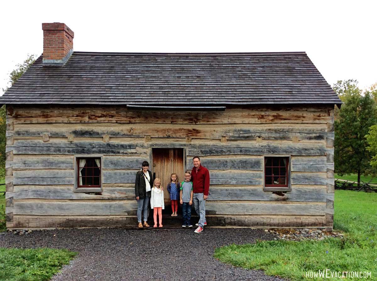 Log Cabin Smith Home Palmyra New York