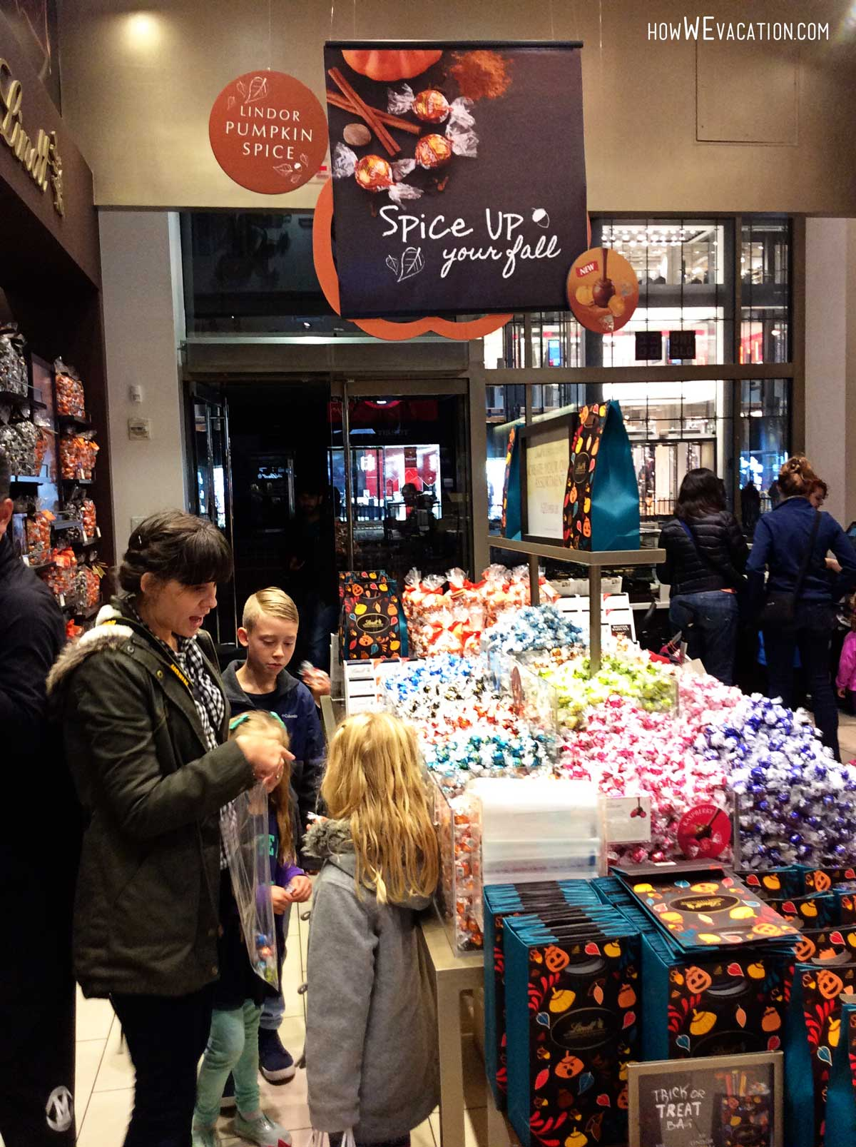 lindor chocolates nyc