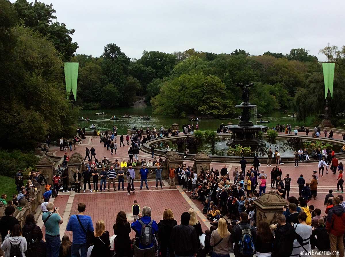 Bethesda NYC central Park