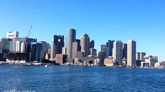 Boston Harbor View
