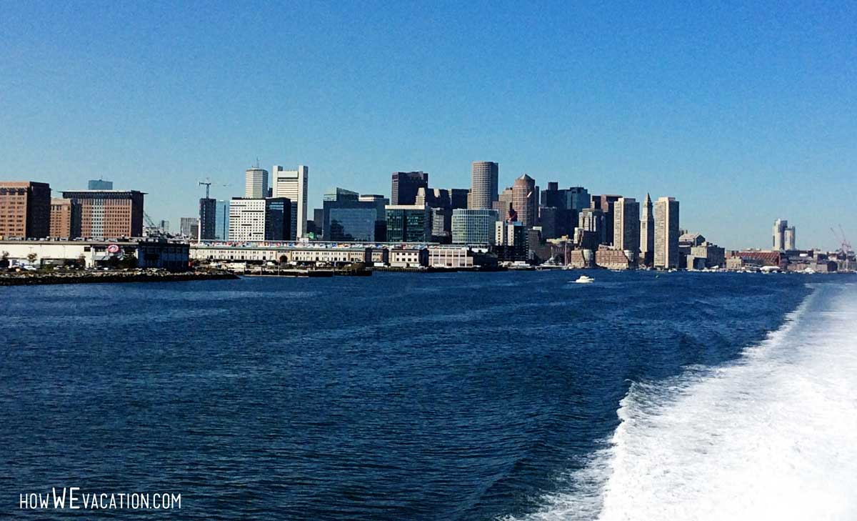 boston view from boat