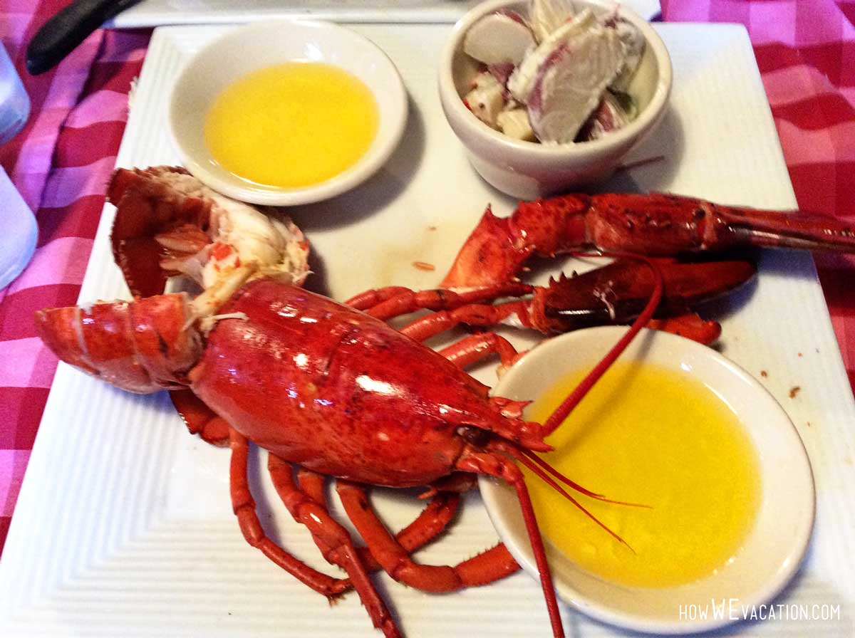lobster at durgin park