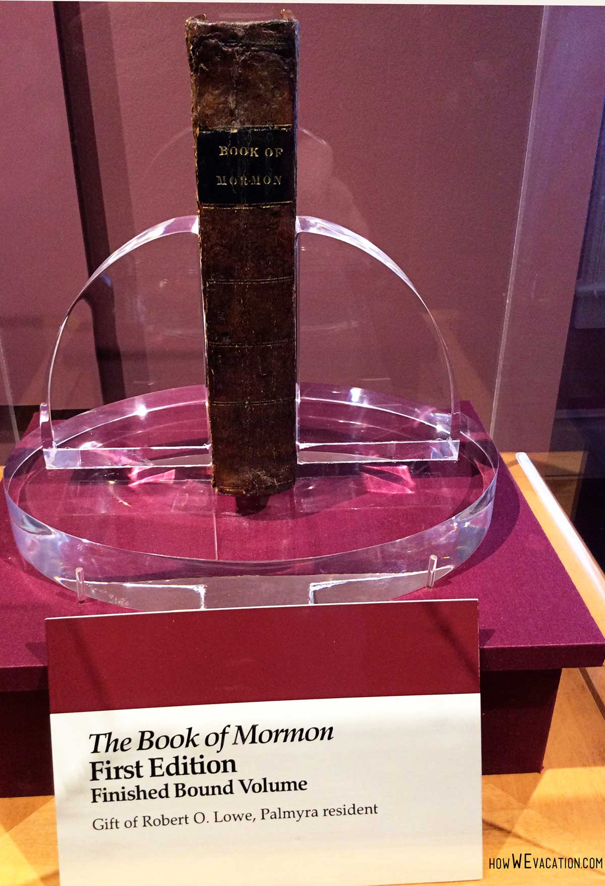 First Edition Book of Mormon