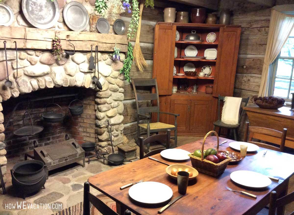 Peter Whitmer Farm Dining Room