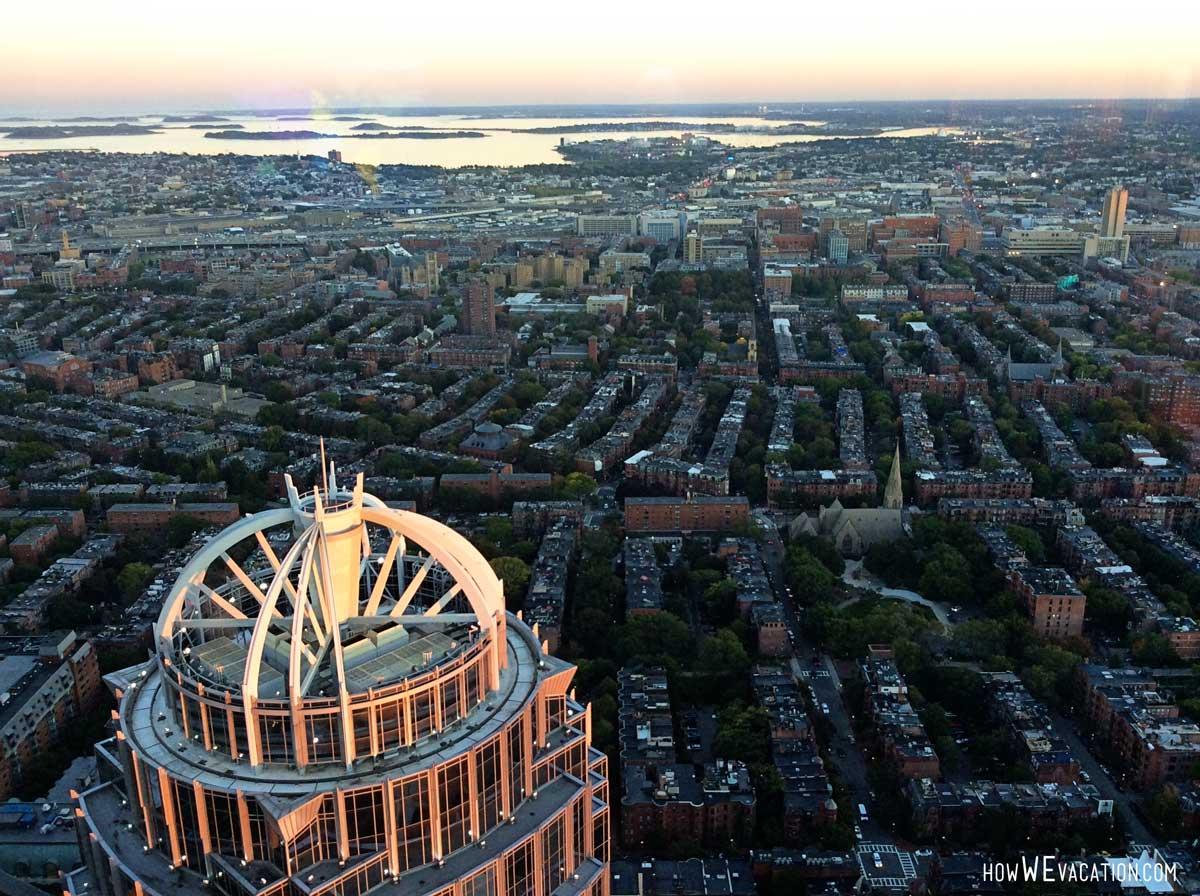 prudential tower views