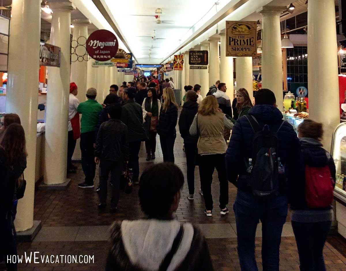 quincy market food in boston