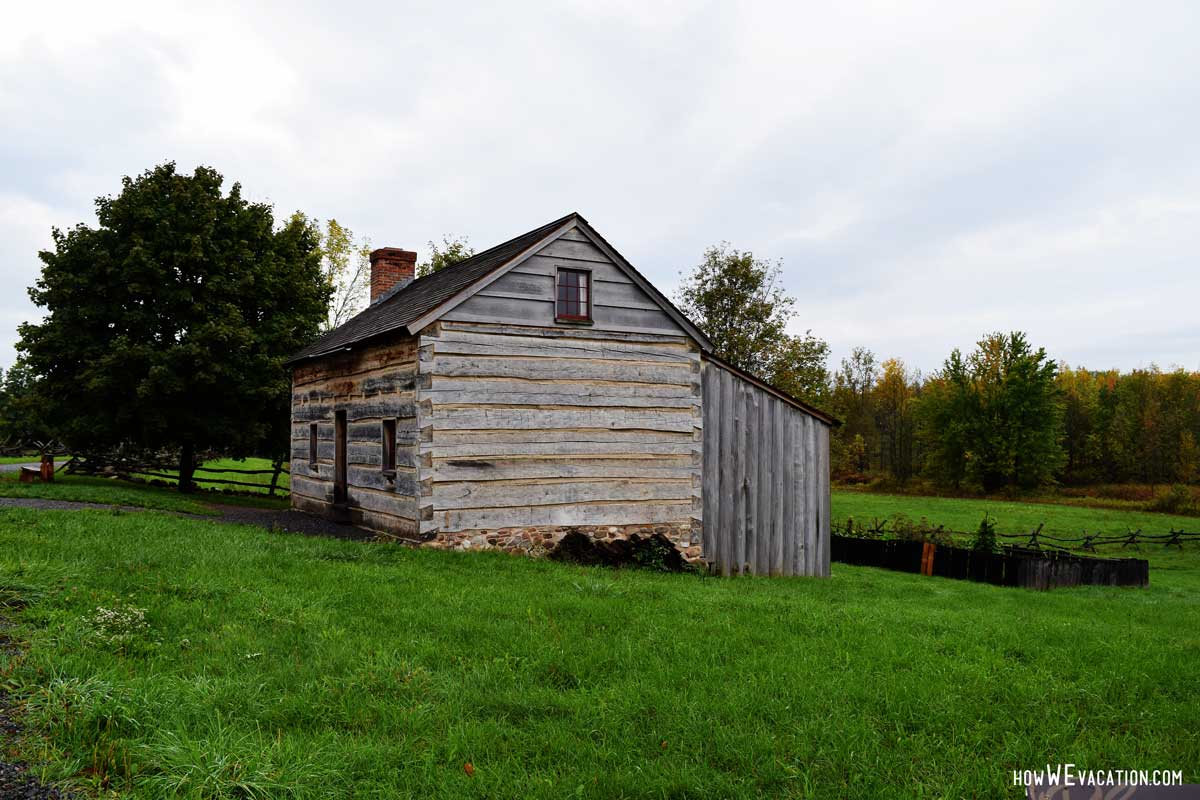 Log Cabin LDS History Site