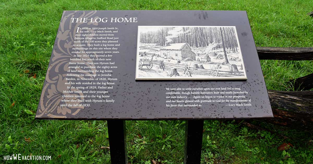 Log Home LDS History Site