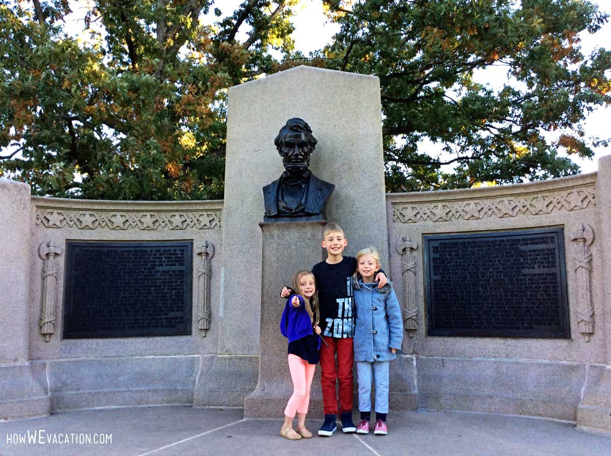 Abraham Lincoln Memorial at Gettysburg