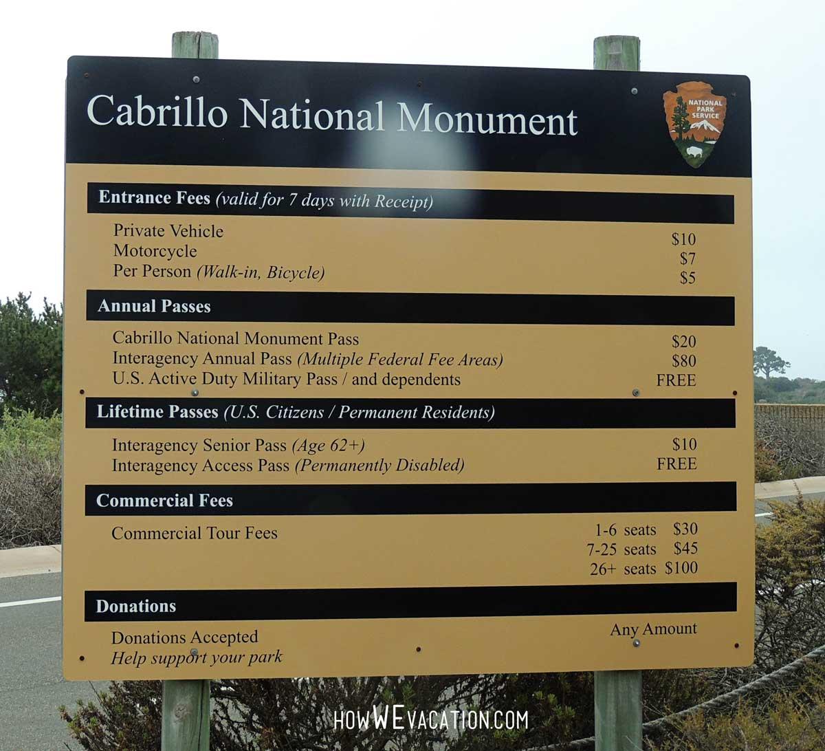 Cabrilllo National Park