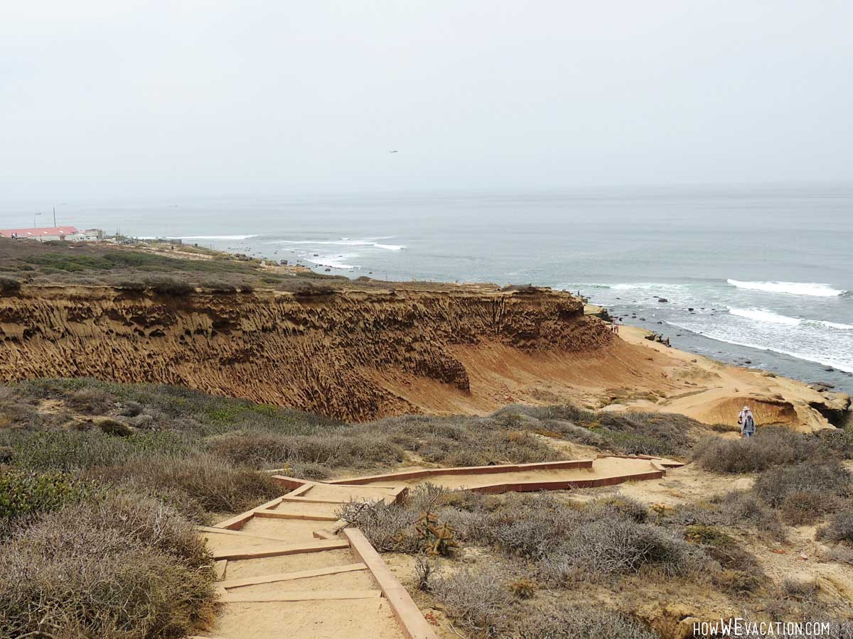 Path to Cabrillo Tide Pool