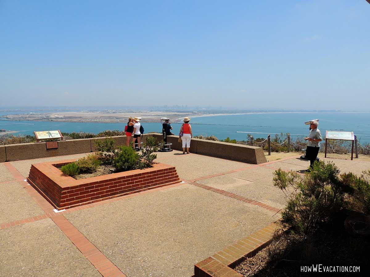 Cabrillo lookout from museum
