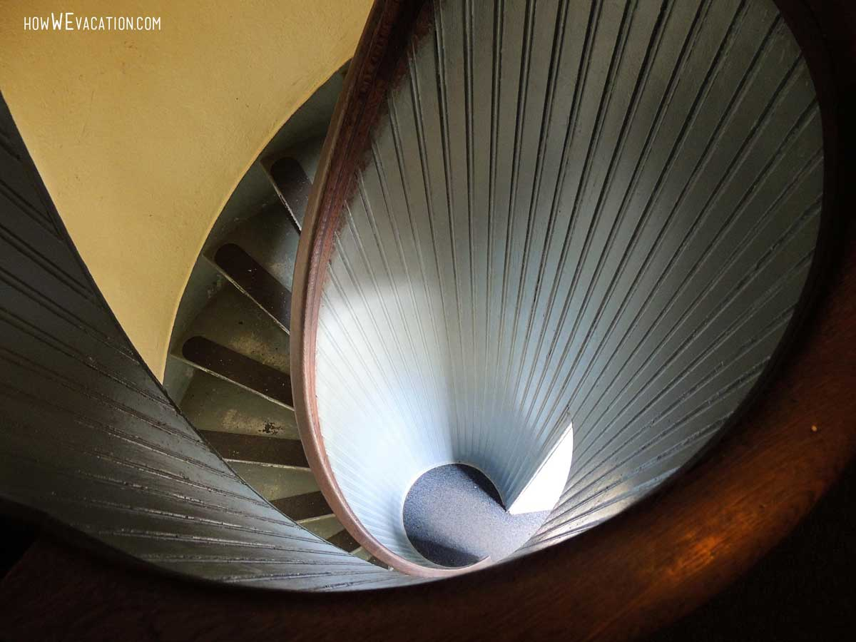 Cabrillo lighthouse stairs