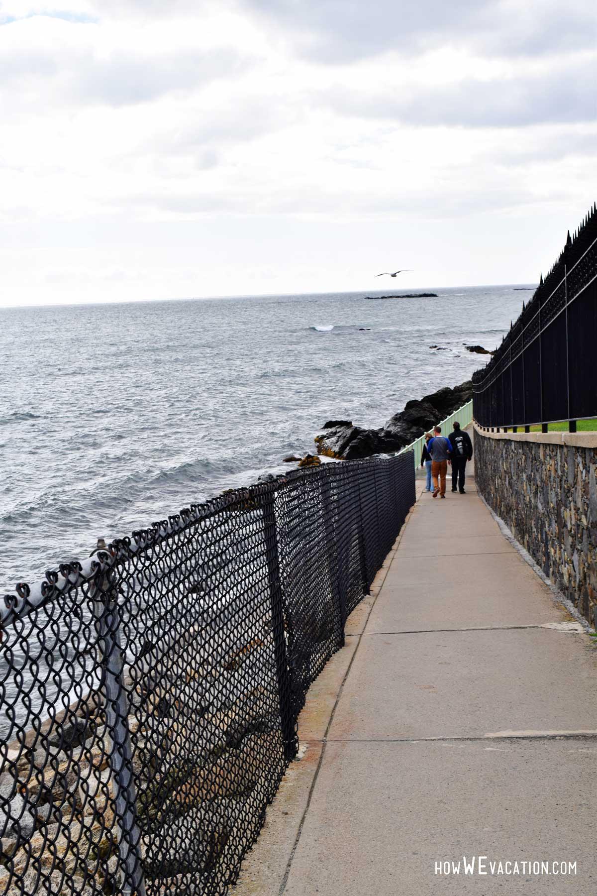 Newport, Rhode Island Cliffs