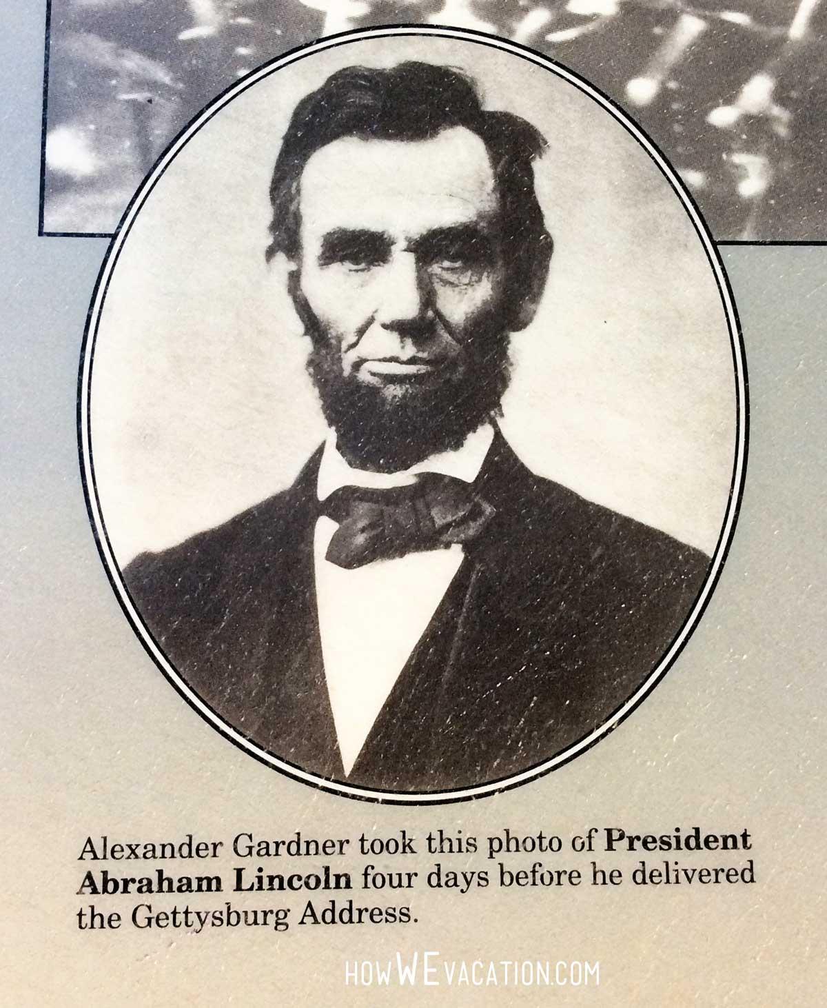 Gettysburg Lincoln Photo