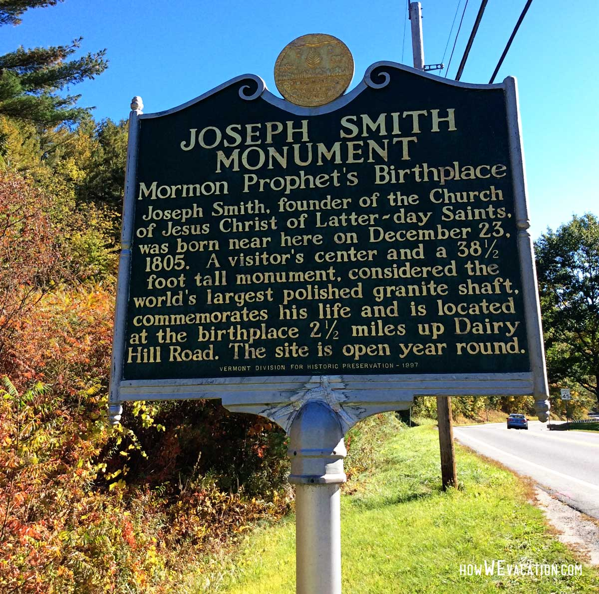 Joseph Smith Birthplace