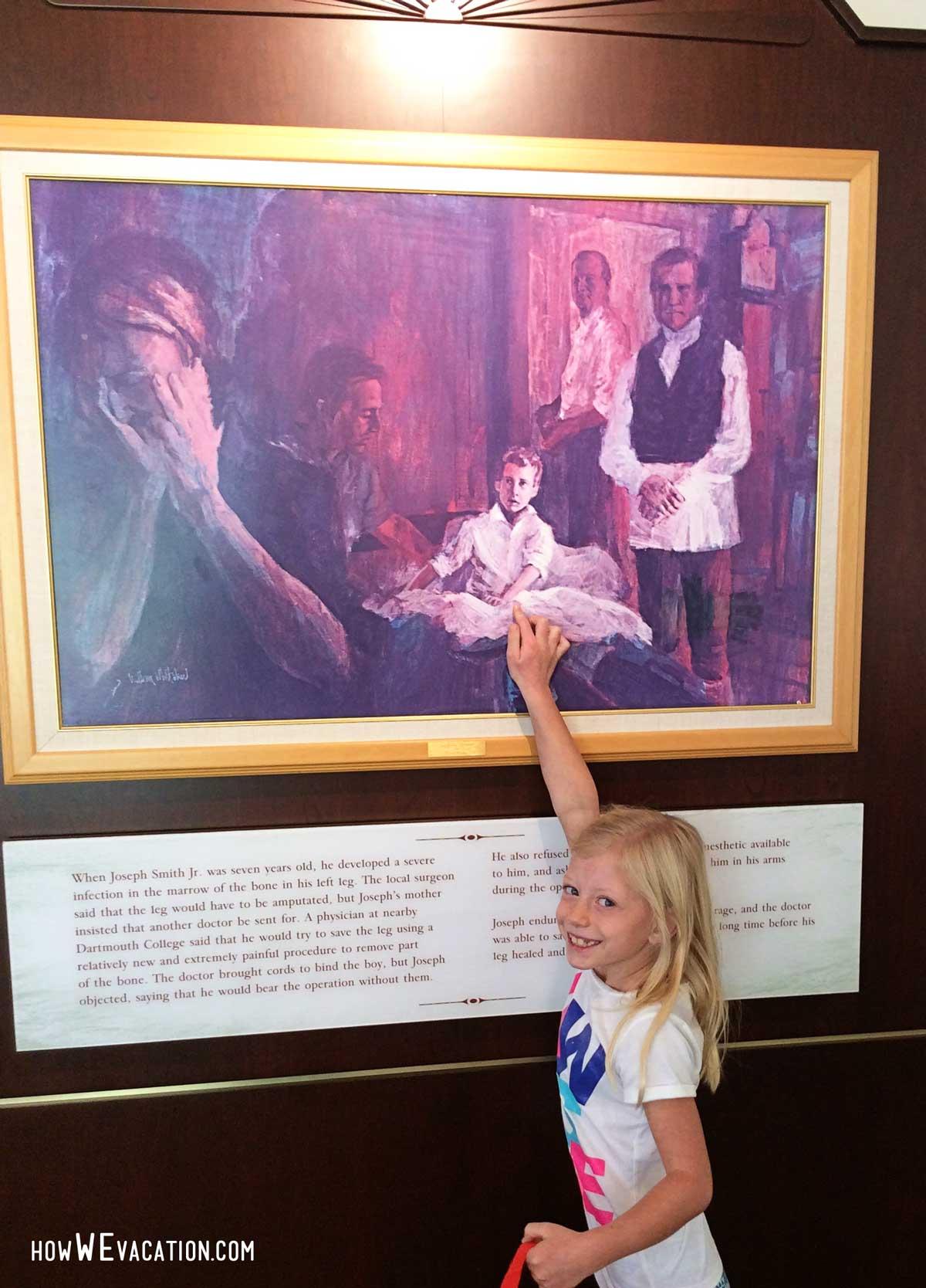 Joseph Smith Memorial visitor's center