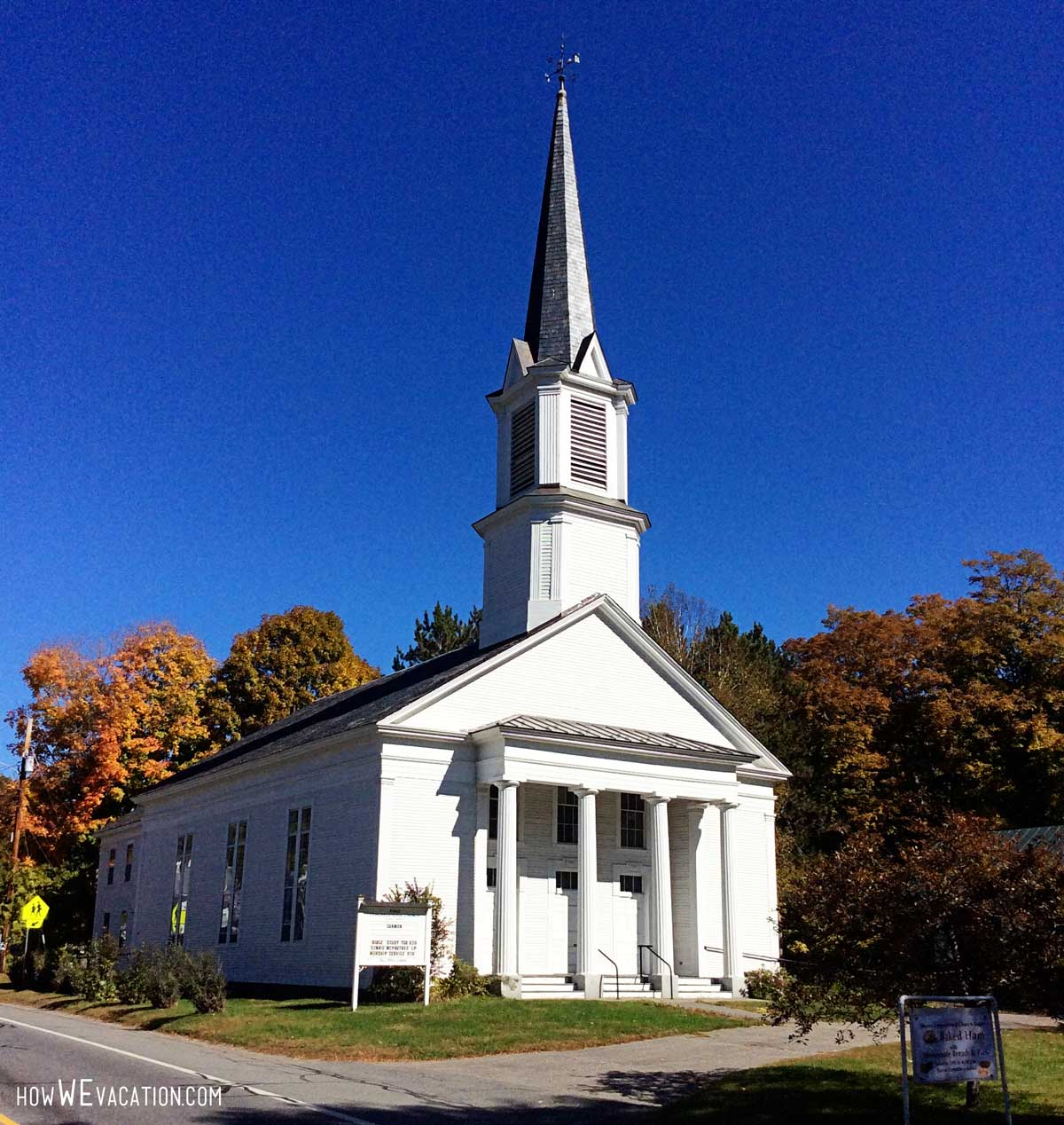 Sharon, VT white chapel