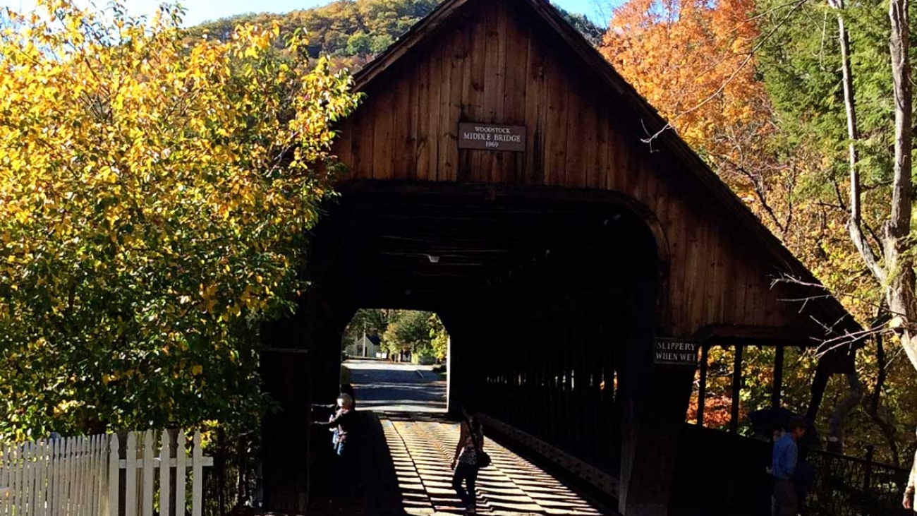 vermnt covered bridges