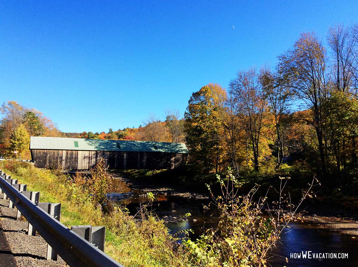view from the woodstock bridge