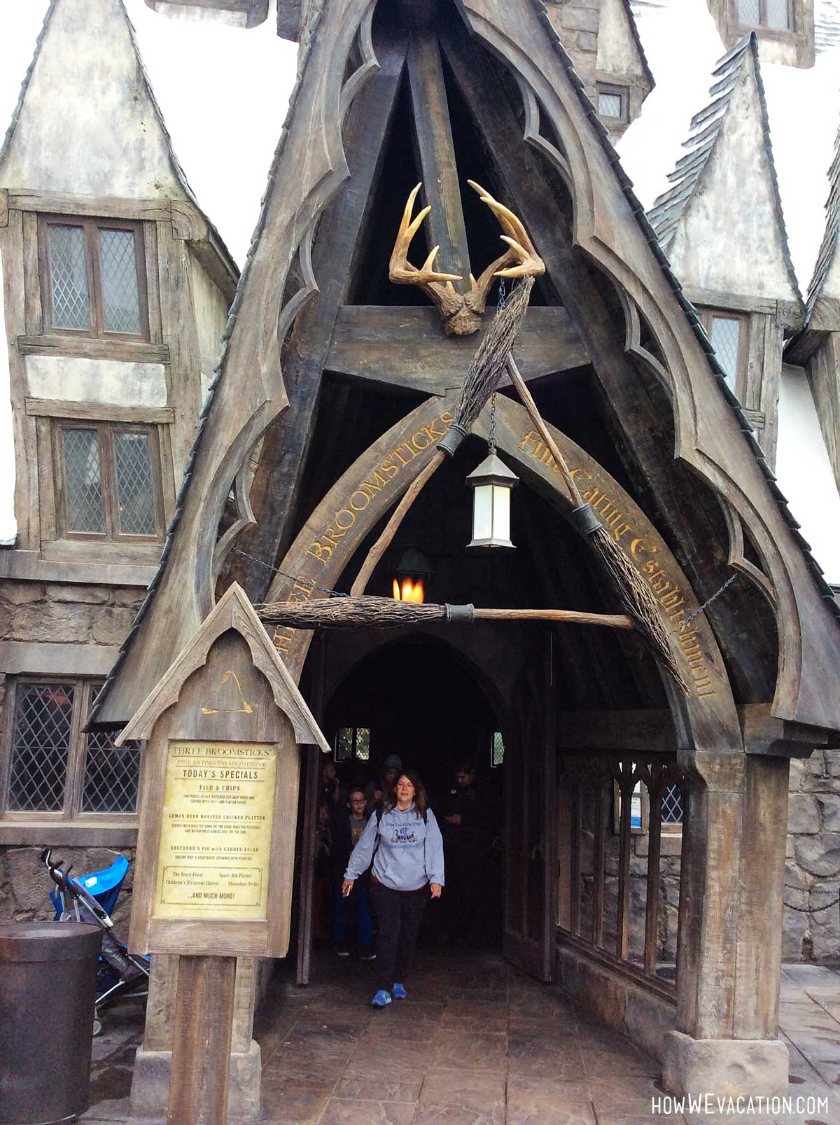 three broomsticks