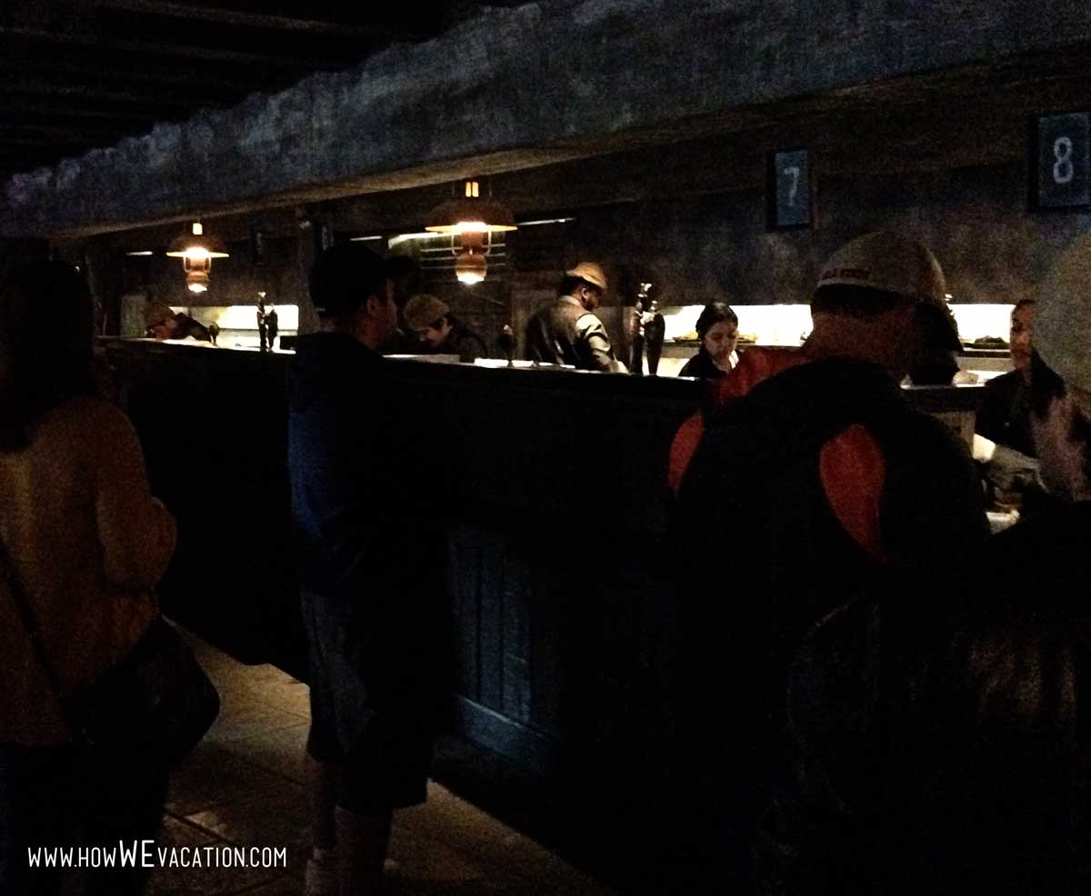 ordering at the three broomsticks