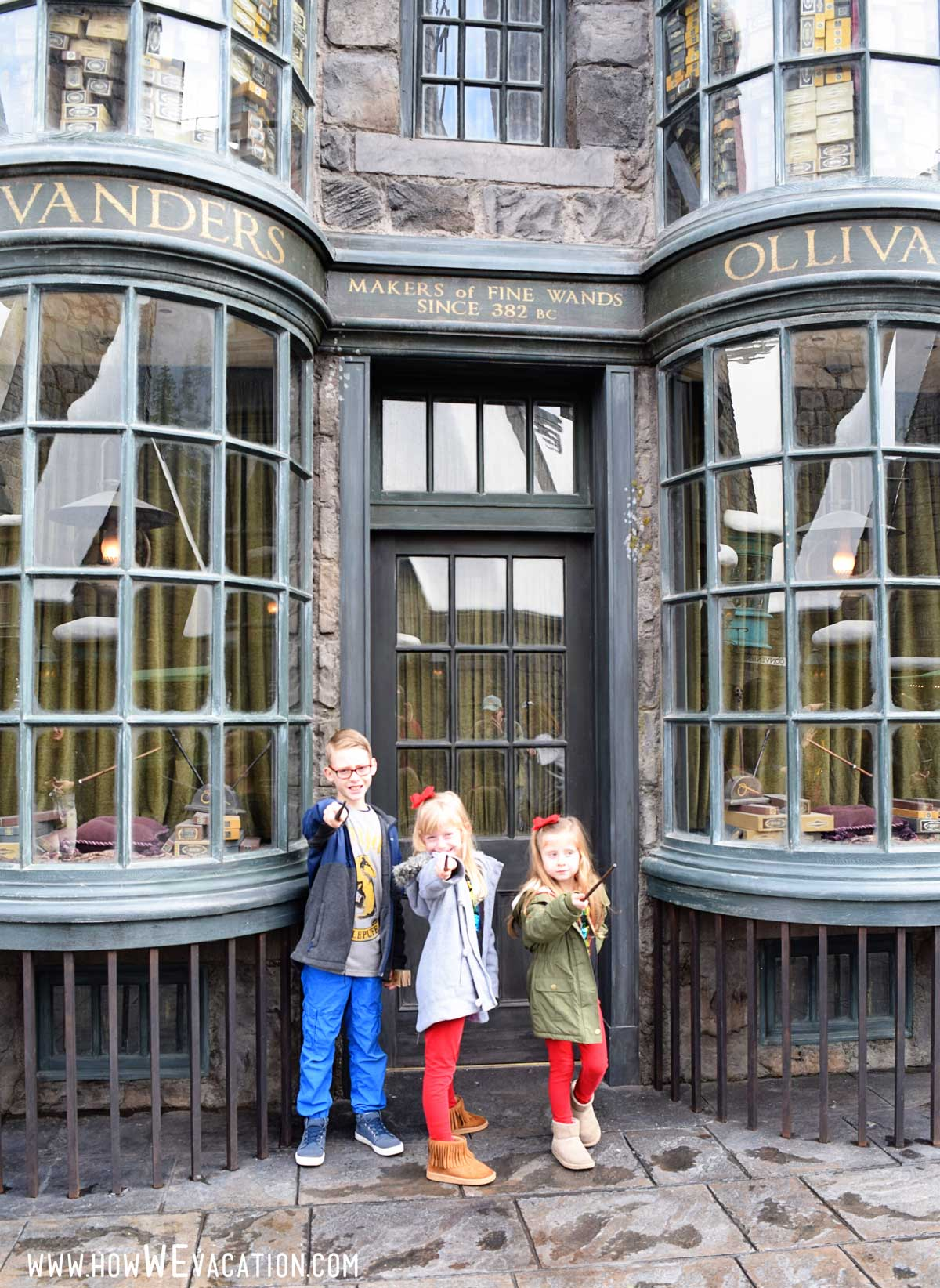 Wands at ollivanders Hollywood